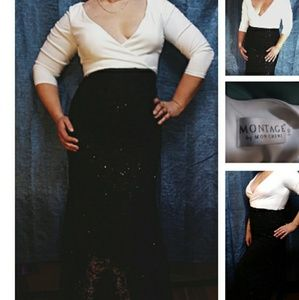 Montage gown sz 12